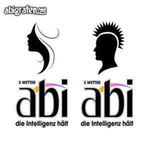 3 Wetter Abi Abi Motto / Abisprüche Entwurf von abigrafen.de®
