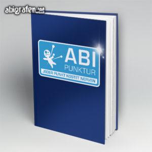 ABIpunktur Abi Motto / Abibuch Cover Entwurf von abigrafen.de®