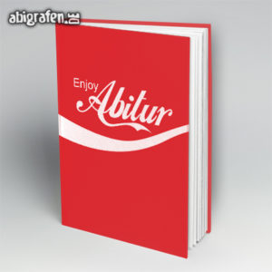 Enjoy Abitur Abi Motto / Abibuch Cover Entwurf von abigrafen.de®