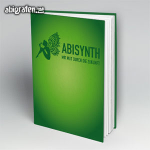 ABIsynth Abi Motto / Abibuch Cover Entwurf von abigrafen.de®