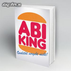 Abi King Abi Motto / Abibuch Cover Entwurf von abigrafen.de®