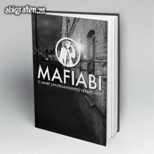 MafiABI Abi Motto / Abibuch Cover Entwurf von abigrafen.de®