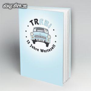 trABI Abi Motto / Abibuch Cover Entwurf von abigrafen.de®