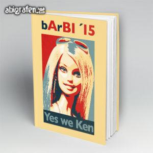 BArBIe Abi Motto / Abibuch Cover Entwurf von abigrafen.de®