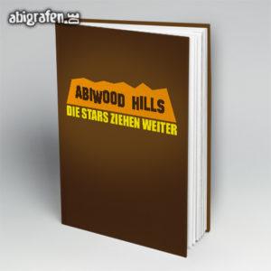 ABIwood Hills Abi Motto / Abibuch Cover Entwurf von abigrafen.de®