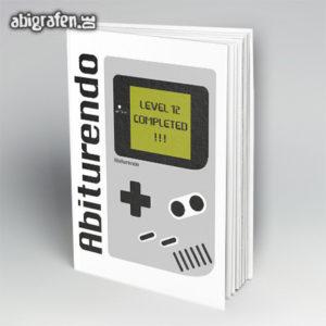 ABItendo Abi Motto / Abibuch Cover Entwurf von abigrafen.de®