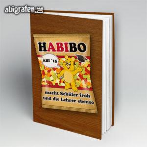HABIbo Abi Motto / Abibuch Cover Entwurf von abigrafen.de®