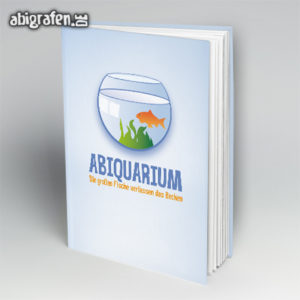 ABIquarium Abi Motto / Abibuch Cover Entwurf von abigrafen.de®