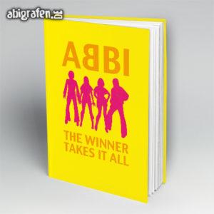 ABBI Abi Motto / Abibuch Cover Entwurf von abigrafen.de®