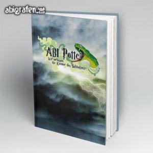 ABI Potter Abi Motto / Abibuch Cover Entwurf von abigrafen.de®