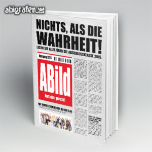 ABild Abi Motto / Abibuch Cover Entwurf von abigrafen.de®