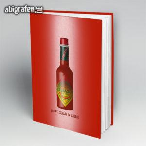 TABIasco Abi Motto / Abibuch Cover Entwurf von abigrafen.de®