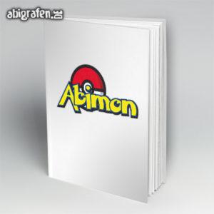 ABImon Abi Motto / Abibuch Cover Entwurf von abigrafen.de®