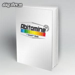 ABItamine Abi Motto / Abibuch Cover Entwurf von abigrafen.de®