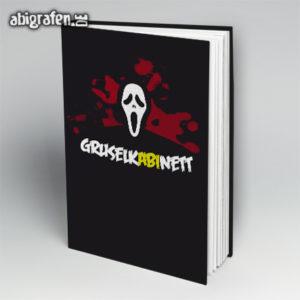 GruselkABInett Abi Motto / Abibuch Cover Entwurf von abigrafen.de®