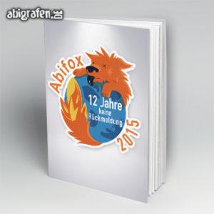 ABIfox Abi Motto / Abibuch Cover Entwurf von abigrafen.de®