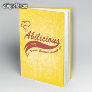 ABIlicious Abi Motto / Abibuch Cover Entwurf von abigrafen.de®