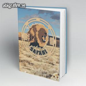 SafABI Abi Motto / Abibuch Cover Entwurf von abigrafen.de®