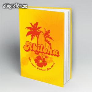 ABIloha Abi Motto / Abibuch Cover Entwurf von abigrafen.de®