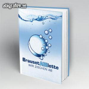 BrausetABIlette Abi Motto / Abibuch Cover Entwurf von abigrafen.de®