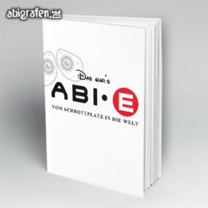 Ab·E Abi Motto / Abibuch Cover Entwurf von abigrafen.de®