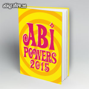 Abi Powers Abi Motto / Abibuch Cover Entwurf von abigrafen.de®