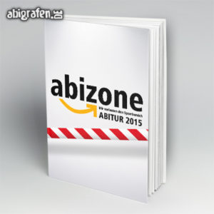 ABIZone Abi Motto / Abibuch Cover Entwurf von abigrafen.de®