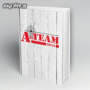 Abi-Team Abi Motto / Abibuch Cover Entwurf von abigrafen.de®