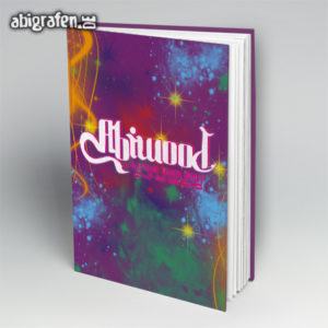 ABIwood Abi Motto / Abibuch Cover Entwurf von abigrafen.de®