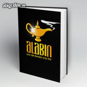 AlABIn Abi Motto / Abibuch Cover Entwurf von abigrafen.de®