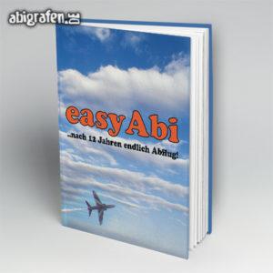 easyAbi Abi Motto / Abibuch Cover Entwurf von abigrafen.de®