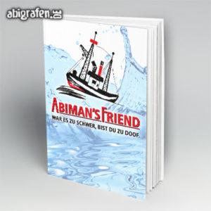 ABImen's Friend Abi Motto / Abibuch Cover Entwurf von abigrafen.de®