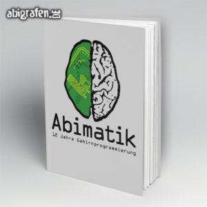 ABImatik Abi Motto / Abibuch Cover Entwurf von abigrafen.de®