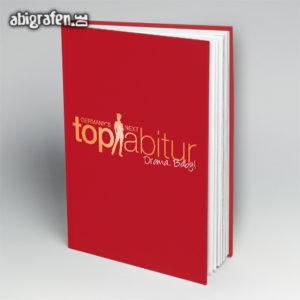 Germany's next top Abiturient // top Abgänger Abi Motto / Abibuch Cover Entwurf von abigrafen.de®