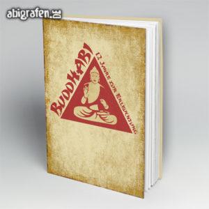 BuddhABI Abi Motto / Abibuch Cover Entwurf von abigrafen.de®
