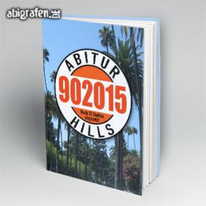 Abi Hills 90 2015 Abi Motto / Abibuch Cover Entwurf von abigrafen.de®