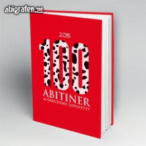 100 ABItiner Abi Motto / Abibuch Cover Entwurf von abigrafen.de®