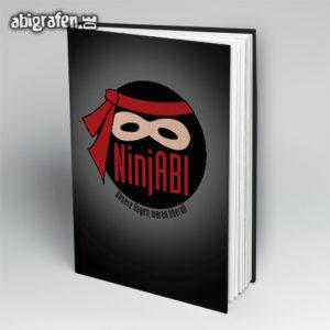 NinjABI Abi Motto / Abibuch Cover Entwurf von abigrafen.de®