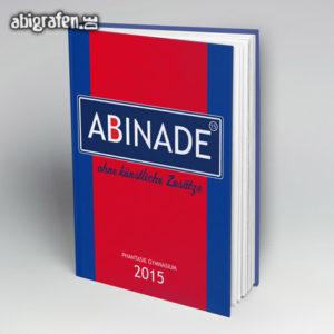 ABInade Abi Motto / Abibuch Cover Entwurf von abigrafen.de®