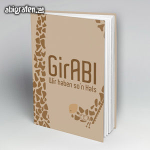 GirABI Abi Motto / Abibuch Cover Entwurf von abigrafen.de®