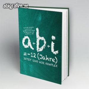 a+b+i = ABI Abi Motto / Abibuch Cover Entwurf von abigrafen.de®