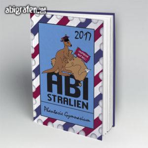 ABIstralien Abi Motto / Abibuch Cover Entwurf von abigrafen.de®