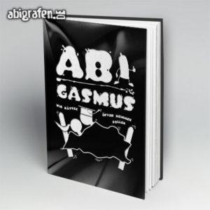 ABIgasmus Abi Motto / Abibuch Cover Entwurf von abigrafen.de®