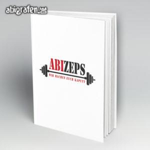 ABIzeps Abi Motto / Abibuch Cover Entwurf von abigrafen.de®