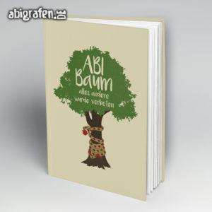 ABI Baum Abi Motto / Abibuch Cover Entwurf von abigrafen.de®