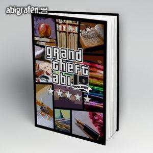 Grand Theft Abi Abi Motto / Abibuch Cover Entwurf von abigrafen.de®