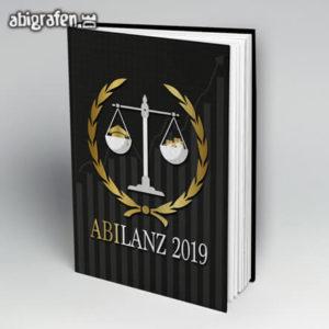 ABIlanz Abi Motto / Abibuch Cover Entwurf von abigrafen.de®