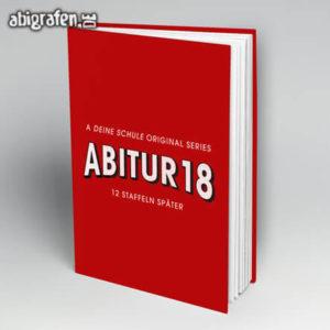 A Deine Schule Original Series Abi Motto / Abibuch Cover Entwurf von abigrafen.de®