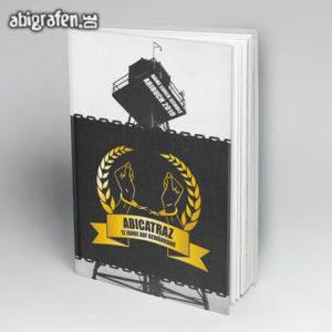 ABIcatraz Abi Motto / Abibuch Cover Entwurf von abigrafen.de®