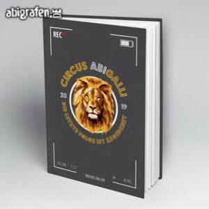 Circus ABIGalli Abi Motto / Abibuch Cover Entwurf von abigrafen.de®